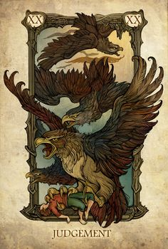 Not a real deck. Wish it was. The Lord of the Rings deck image: http://sceithailm.deviantart.com/art/Tarot-Judgement-520153874