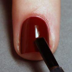 Salon perfect manicure: step 6