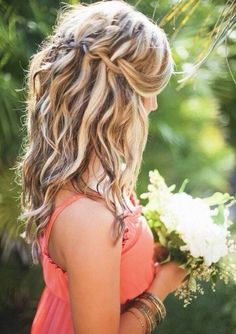 Braided loose waves, with highlights