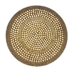 Heavy Metal Placemats by Kim Seybert   Gold   Set of 4