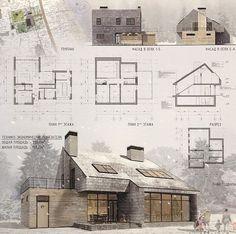 Vivienda de 2 niveles Arquitectura Moderna