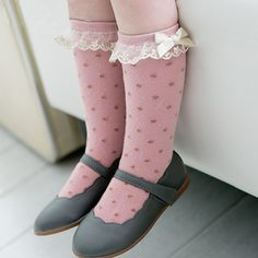 98 Best Baby Knee High Socks Images On Pinterest Knee Socks Knee