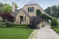 1939 home originally designed by Harold Zook. Hinsdale, IL. http://www.estately.com/listings/info/133-ravine-road--2#