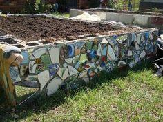 DIY Mosaic Cinder Blocks