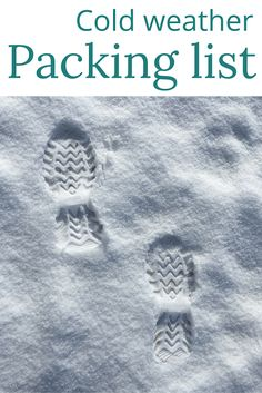 Adoration 4 Adventure's packing list recommendations for cold weather travel for both females and males, to fit into one carry-on suitcase per person.