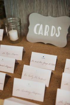 escort cards http://www.weddingchicks.com/2013/11/25/big-bash-wedding/