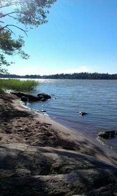 At the beach of Seurasaari Helsinki Helsinki, Finland, Norway, Sweden, Places Ive Been, Blues, River, Mountains, Beach