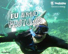 Para quem ama flutuar!  Foto: Rio da Prata - Jardim/MS  #euamoflutuar