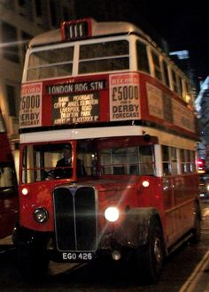 London transport caught me by surprise at Bank, seen after a days filming in the City for the latest Mary Poppins movie along with a few others buses from the London Bus Museum. Rt Bus, Mary Poppins Movie, London Red Bus, Routemaster, Double Decker Bus, Bus Coach, London Transport, Auto Service, Busses