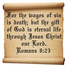 Romans 6 Verse 23 | Inspirational Christian Quotes