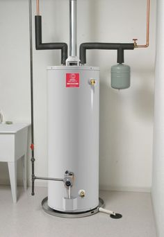 residential electric hot water heater installation Expansion tank