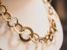 Gold Chain Necklace only at Multipearl