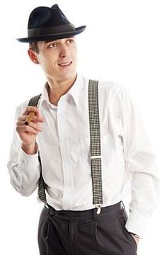 Retro Fashion mens fashion - good to note for upcoming day at Ascot! - Like men's fashion before it, men's wear saw a postwar clothing revolution that changed fashion permanently, particularly in adolescents. Mode Masculine, 1950s Mens Wear, 1950s Mens Hats, 1950s Fashion Menswear, 1950s Mens Fashion Casual, Fifties Fashion, 1950 Style, 50s Style Men, Mode Style