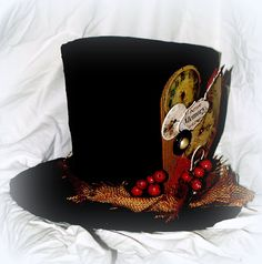 Top Hat tutorial : Crafty Home Cottage: Charles Dickens & Sheet Music Christmas