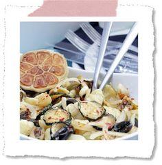 Pasta-Salat mit Honig-Senf-Dressing - live life deeply - now