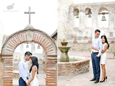 jerica + paolo | engagement session | mission san juan capistrano