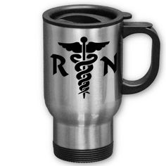 RN Medical Symbol Coffee Mug, $25.15.