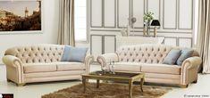 Ένα σετ τόσο κομψό όσο και διαχρονικό, για να στολίσει το χώρο σας και να το μετατρέψει σε ένα πολυτελές σαλόνι!