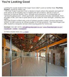 #StudioSpotlight #inpoleposition Pole Dancing, Cape Town, South Africa, How To Look Better, Studios, Pole Dance, Studio, Pole Fitness, Pole Moves