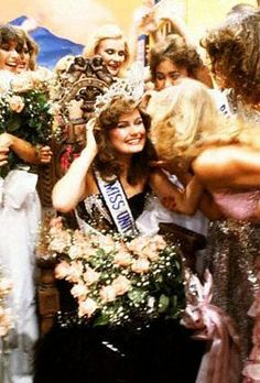 1982 Miss Universe Karen Baldwin of Canada.