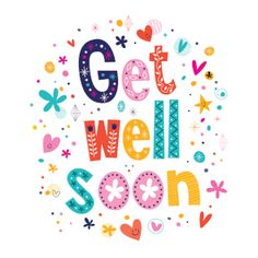 54 Best Get Well Soon Cards Images On Pinterest In 2018