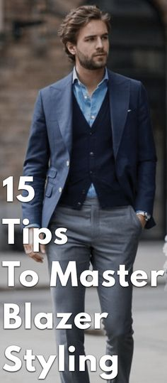Blazers are no doubt the most versatile clothing piece in every man's wardrobe as it can be styled in variety of ways from formal to casual. Read the blog and excel blazer styling with ease!