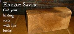 Save on Heat with Fire Bricks