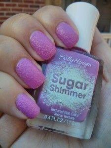 Sugar Shimmer Sally Hansen - Berried Under