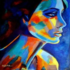 "Saatchi Online Artist Helena Wierzbicki; Painting, """"Shadows and silence"""" #art"