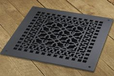 12 X 12 CAST IRON VENT COVER - Vent Covers Unlimited
