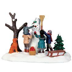 "LEMAX CHRISTMAS VILLAGE ""VICTORIAN SNOWMAN"" SKU No. 63267 TABLE ACCENT  *2016* #Lemax"