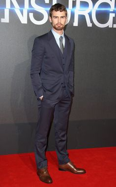 Theo James, Insurgent Premiere