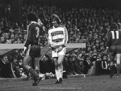 24th November 1976. Stan Bowles finest hour in the colours of QPR as he inspires them to a 3-0 victory over Cologne in the UEFA 3rd Round 1st Leg at Loftus Road.