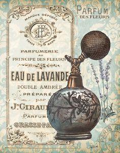 eau de lavande, parfum des fleurs, parfumerie au principe des fleurs, double ambrée, préparé par jn. giraud fils parfumeur, grasse/paris