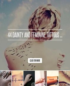 44. Parts of an Arrow - 44 Dainty and Feminine Tattoos ... → Beauty
