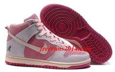 Womens Nike Dunk High Year of the Pig Perfect Pink Aluminum Pink Morning Glory Casual Shoes   #Pink #Womens #Sneakers