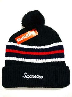 2017 Winter Hot Supreme Beanie knitted hat