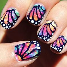 butterfly Nail Designs | Butterfly Nail Art Design