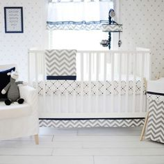 My Baby Sam Out of the Blue Crib Bedding Collection - buybuyBaby.com