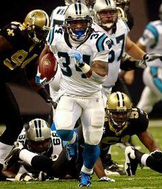 Art DeAngelo Williams - Carolina Panthers football