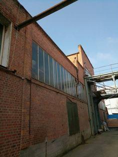 Industriegelände in Freiburg, Backsteingebäude mit Charme
