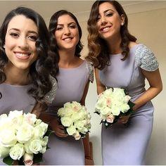 Long Bridesmaid Dresses Scoop Cap Sleeve Backless Sweep
