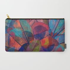 Leaf mosaic(29). Carry-All Pouch