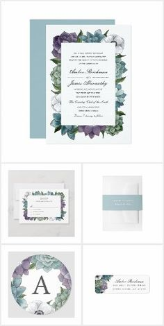 Anniversary Quotes, Love Messages, Autumn Summer, Floral Watercolor, Floral Wedding, Succulents, Invitations, Rustic, Engagement