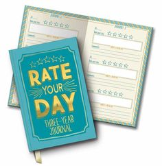 Studio Oh! 'Rate Your Day' 3-Years Journal | HolyCool.net