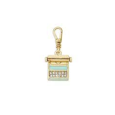 ISN'T THIS PERFECTLY ADORABLE?!! For the Vintage gal....Chloe+Isabel Tresors charm. Lifetime warranty. Check out the online boutique to browse these adorable charms!