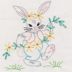 Vintage Garden Animals And Friends Colorwork - Embroidery Playground   OregonPatchWorks