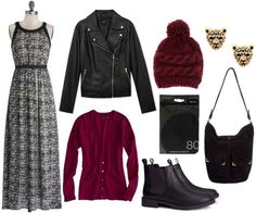 How to Wear a Maxi Dress in Winter - College Fashion