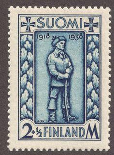 Finland 1938 postimerkki