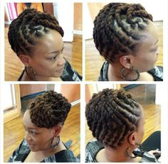 We've gathered our favorite ideas for Barrel Locs Hairstyle Share Red Locs And Loc Styles, Explore our list of popular images of Barrel Locs Hairstyle Share Red Locs And Loc Styles. Dreadlock Styles, Dreads Styles, Updo Styles, Ponytail Styles, Medium Hair Styles, Natural Hair Styles, Long Hair Styles, Hair Medium, Classy Outfits